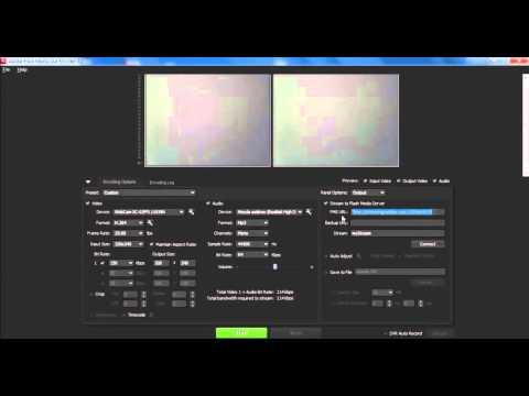 Configuración Adobe Flash Media Live Encoder