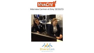 Interview de Carmen et Emy Sur VivaCité : engagées chez Getronics grâce à DiversiCom !