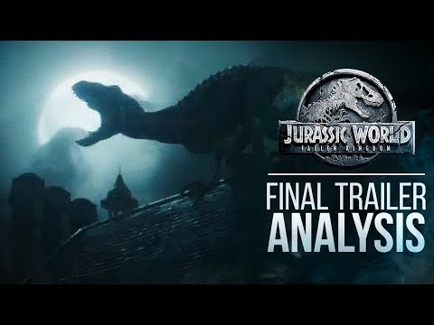 Jurassic World: Fallen Kingdom FINAL TRAILER ANALYSIS | Indoraptor, Skeletons, Mosasaurus & More!