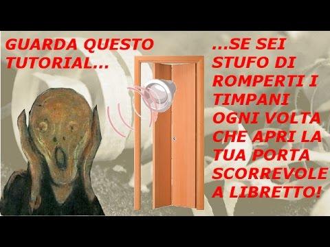 Porta a libretto lubrificazione dei cardini rumorosi - Porta a libretto ...