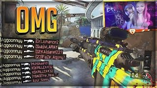I HIT A CLIP ON HER!!