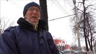 пикет против отстрела бездомных животных в Воронеже. 2 февраля 2018