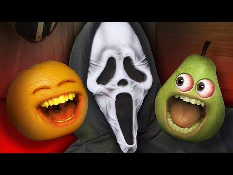 Annoying Orange - Scare Pear Challenge #4   #Shocktober