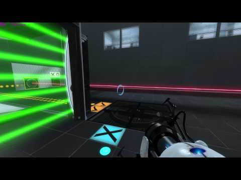 """Portal 2 Map :  """" Ridiculously Easy """"by Flav606 ****"""