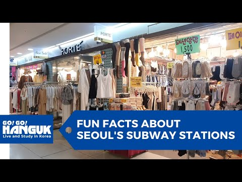 🚄 Fun Facts About Seoul's Subway | 🛍️ Shopping, Dining, & More! | 🎨 Underground Creative Space