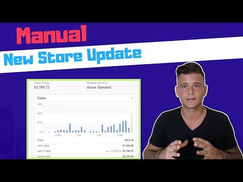 eBay New Manual Store Update - eBay Manual Dropshipping UK 2019 thumbnail
