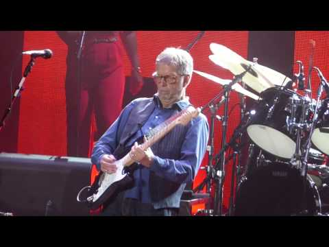"""Before You Accuse Me"" Eric Clapton & Gary Clark Jr & Jimmie Vaughn@New York 3/19/17"
