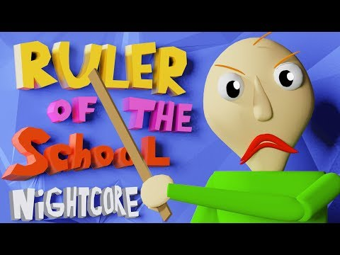 """Baldi Song Nightcore """"Ruler of The School"""" by Fandroid The Musical Robot"""
