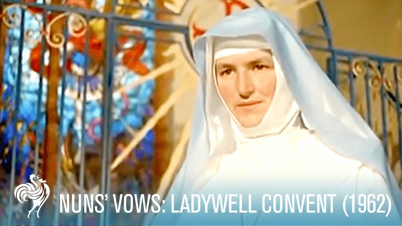 Nuns Vows At Ladywell Convent 1962 British Pathé