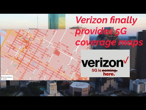 Verizon | 5G Coverage Maps (finally 🙄)