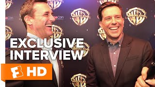 Jon Hamm & Ed Helms Talk Male Friendships and Bad Improv - Tag Cast Interview   Fandango All Access