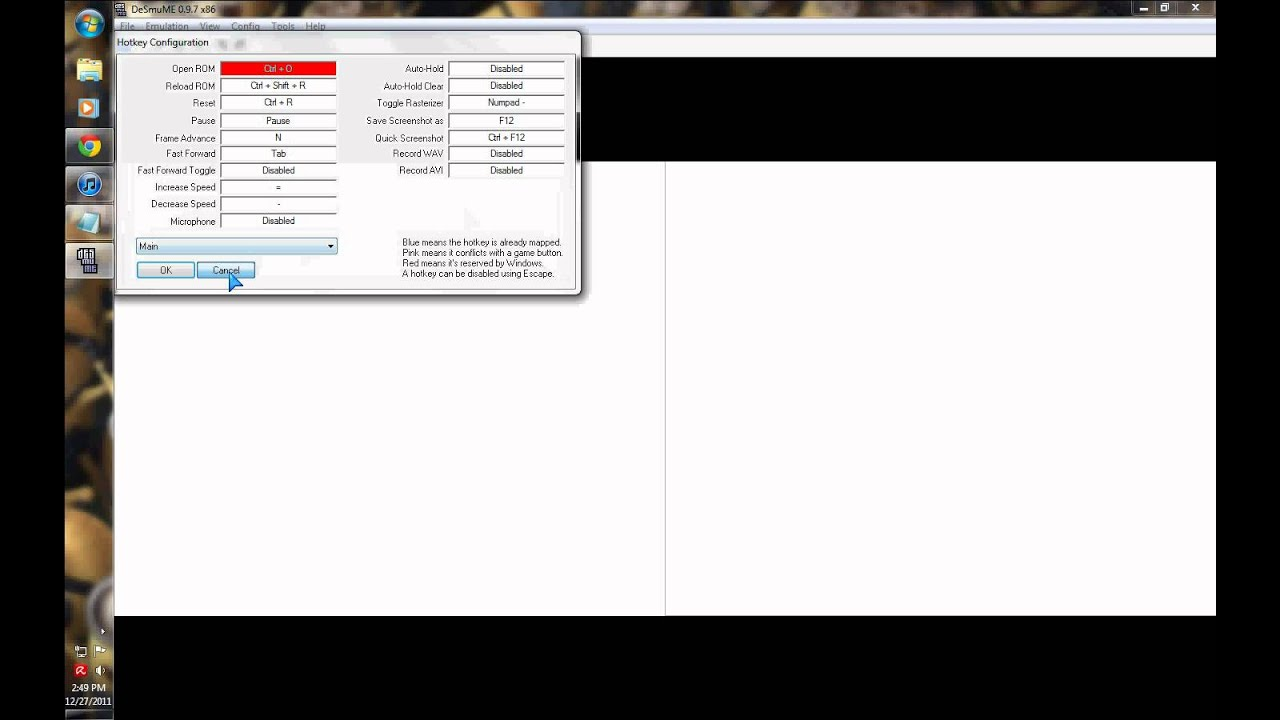 emulateur desmume 0.9.7