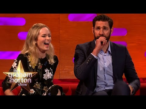 Emily Blunt Wishes John Krasinski Would Be Less American  The Graham Norton Show