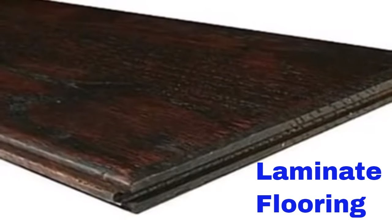 Laminate Flooring With Attached Underlayment