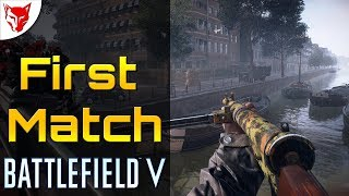 Battlefield V First Match on PS4