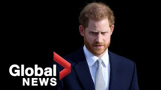 Prince Harry breaks silence on decision by him and Meghan to step back from royal roles