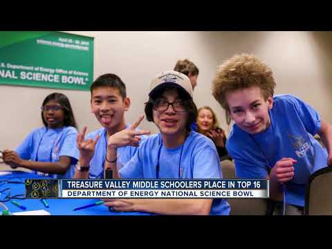 Treasure Valley middle schoolers compete in National Science Bowl