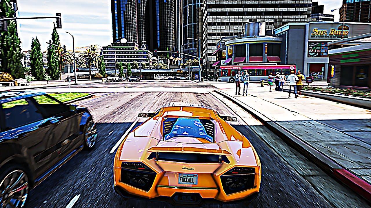 Grand Theft Auto 5 Car Wallpaper Gta 6 Graphics Gta 5 Redux Mod 4k Gtx 1080 Ti Gameplay