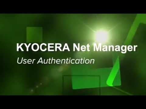 KYOCERA Net Manager - User Authentication