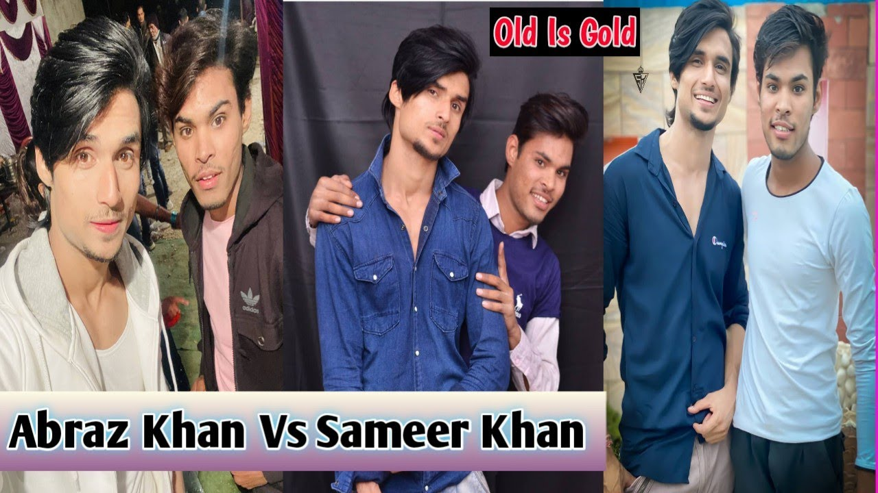 Abraz Khan vs Saameer Khan | Sameer Khan Best TikTok Video | Abraz Khan | Sameer Khan | Shoeb Khan