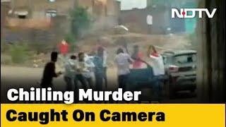 Madhya Pradesh Cow Vigilante Killed, Chilling Murder Caught On Camera