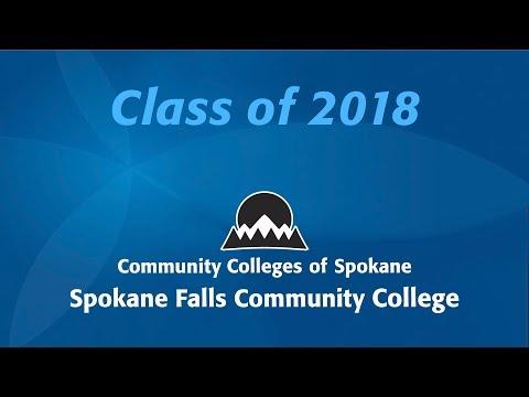 Spokane Community College Commencement 2018