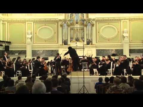 Mozart Clarinet Concerto Lyutikov Nikita