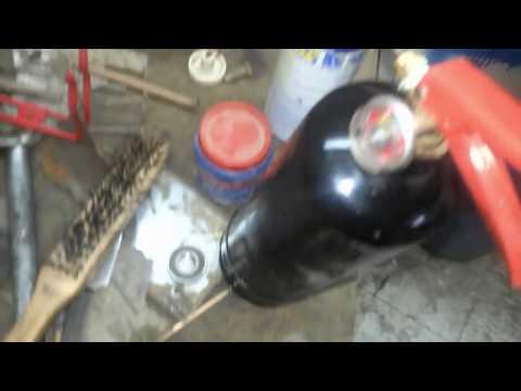 ابتكار  رائع لتنظيف المكيفات السبلت بالندروجين  الجزء Great innovation  cleaning with nidrogen 2