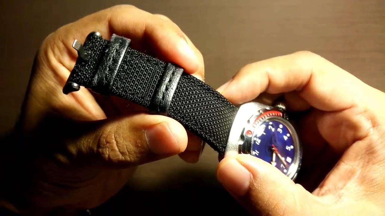 Hadley Roma Kevlar Watch Strap Review