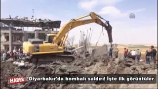Diyarbakır'da büyük patlama! Şehit ve yaralılar var