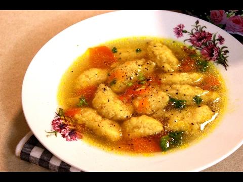 Griz knedle za supu - Šerpicina škola kuvanja