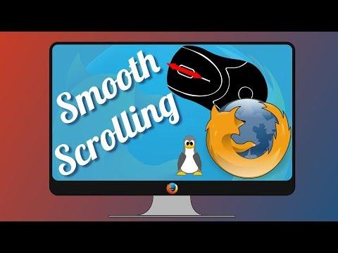 Firefox smooth scrolling