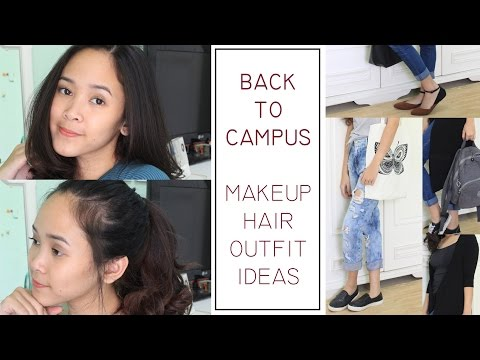 Back to Campus Makeup, Hair & Outfit Ideas - Almiranti Fira
