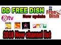 Dd free dish new channel update in setting video official 2018 paid channel free