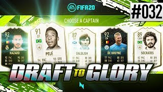 THIS ATTACK IS UNSTOPPABLE! - FIFA20 - ULTIMATE TEAM DRAFT TO GLORY #32