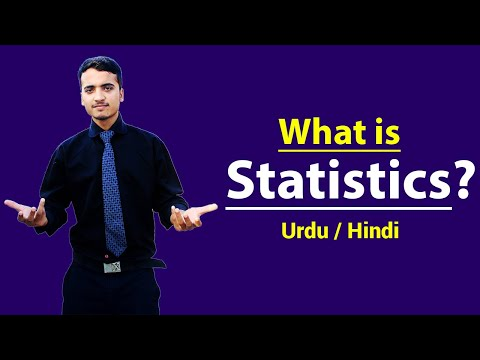 What Is Statistic With Example ? Hindi / Urdu