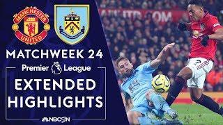 Manchester United v. Burnley | PREMIER LEAGUE HIGHLIGHTS | 1/22/2020 | NBC Sports