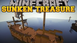 Minecraft: SUNKEN TREASURES (EXPLORE SHIPS FOR GREAT REWARDS!) Mod Showcase