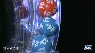 Lotto 6/49 - Tirage du 26 mai 2018