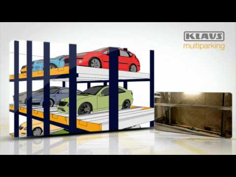 Full-automatic Parking by KLAUS Multiparking - 2 Min.