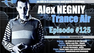 OUT NOW : Alex NEGNIY - Trance Air - Edition #125