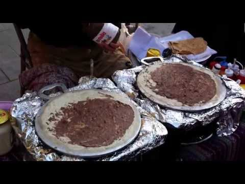 Street food at Doha, Qatar