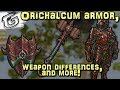 Orichalcum armor, Weapon differences, & more! - Mining & Smithing rework