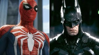 Spider-Man PS4 vs Batman: Arkham Knight | Gameplay COMPARISON! full hd by Aboutgame