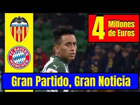 Christian Cueva ¡MOTIVADO! 🔴 ¡4 Millones de Euros! ⚽ ¡Bayern Múnich o Valencia CF!