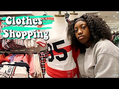 WEIGHT LOSS CLOTHES SHOPPING | JaVlogs