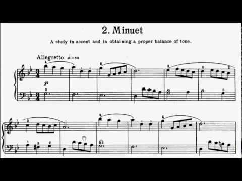 minuet in g analysis Menuets in g major, bwv anh114 - 115 the minuet in g major is a keyboard piece included in the 1725 notebook for anna magdalena bach,.