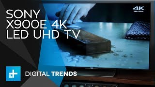 Video Sony X900E 4K LED UHD TV - Hands On Review download MP3, 3GP, MP4, WEBM, AVI, FLV Maret 2018