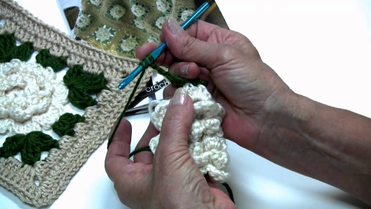 Rose in bloom afghan by red heart with kathleen sams youtube bankloansurffo Choice Image