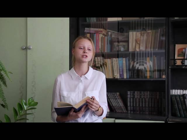 Изображение предпросмотра прочтения – МаринаБурова читает произведение «Легкое дыхание» И.А.Бунина
